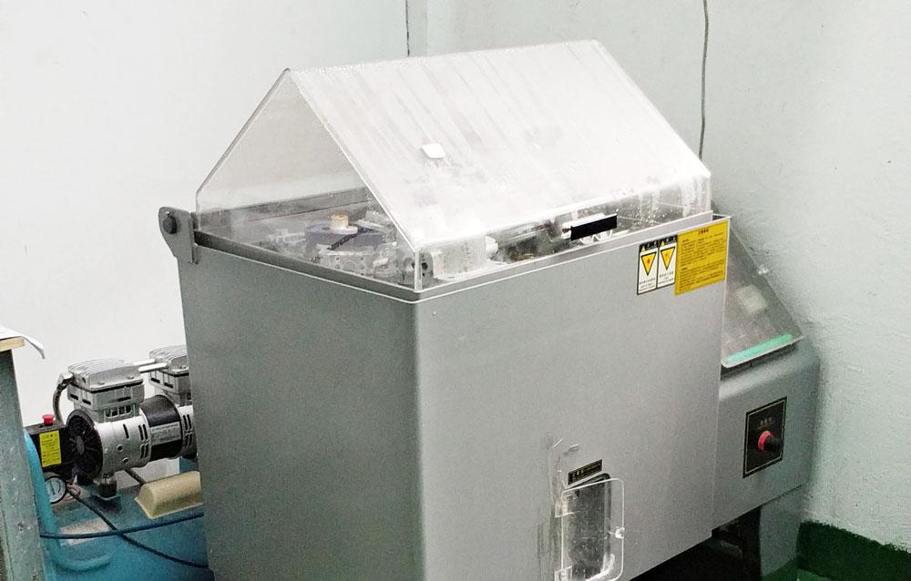 达克罗产品盐雾测试